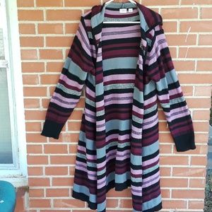 ❤2 for $20 sale Cato Plus 22/24 waterfall cardigan